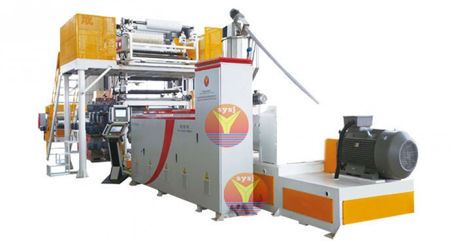 SPC floor production line